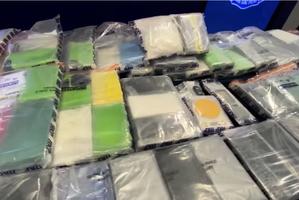 警方檢獲百公斤可卡因 市值過億 鄉郊車輛藏匿毒品做法罕見