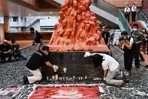 支聯會洗刷港大「國殤之柱」