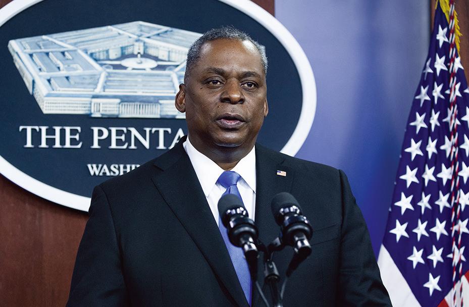 美國國防部長奧斯汀(Lloyd Austin)資料照。(Getty Images)