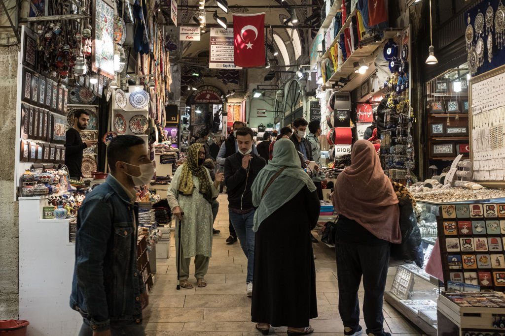 IHS Markit今(5月3日)公佈4月份土耳其製造業PMI數值為50.4,反映商業活動正在擴張。(Chris McGrath/Getty Images)