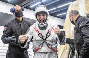 龍飛船載四名太空人返地球