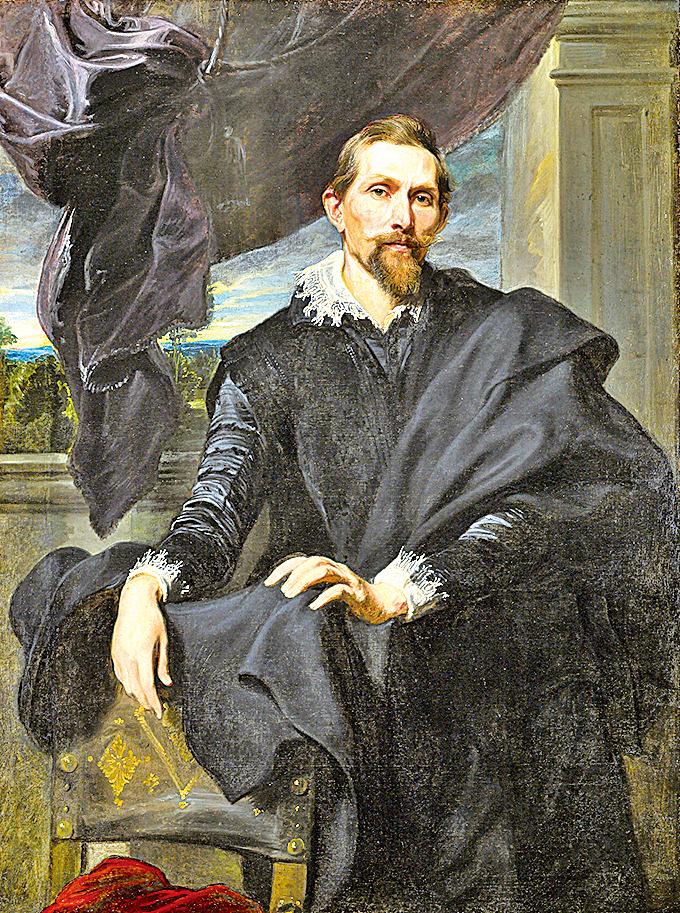 《弗蘭斯‧斯奈德斯像》,約作於1620年,布面油畫,紐約弗里克收藏館藏。(Kati Vereshaka/Epoch Times)