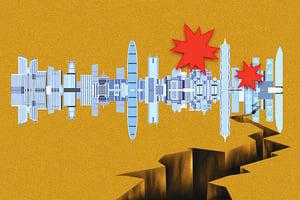 深圳雙重「大地震」  出大事前奏?