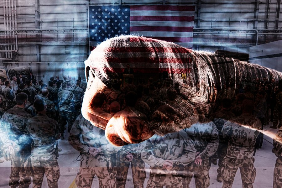 【軍事熱點】中共尋求取代國際秩序 美軍縮回拳頭再打出去
