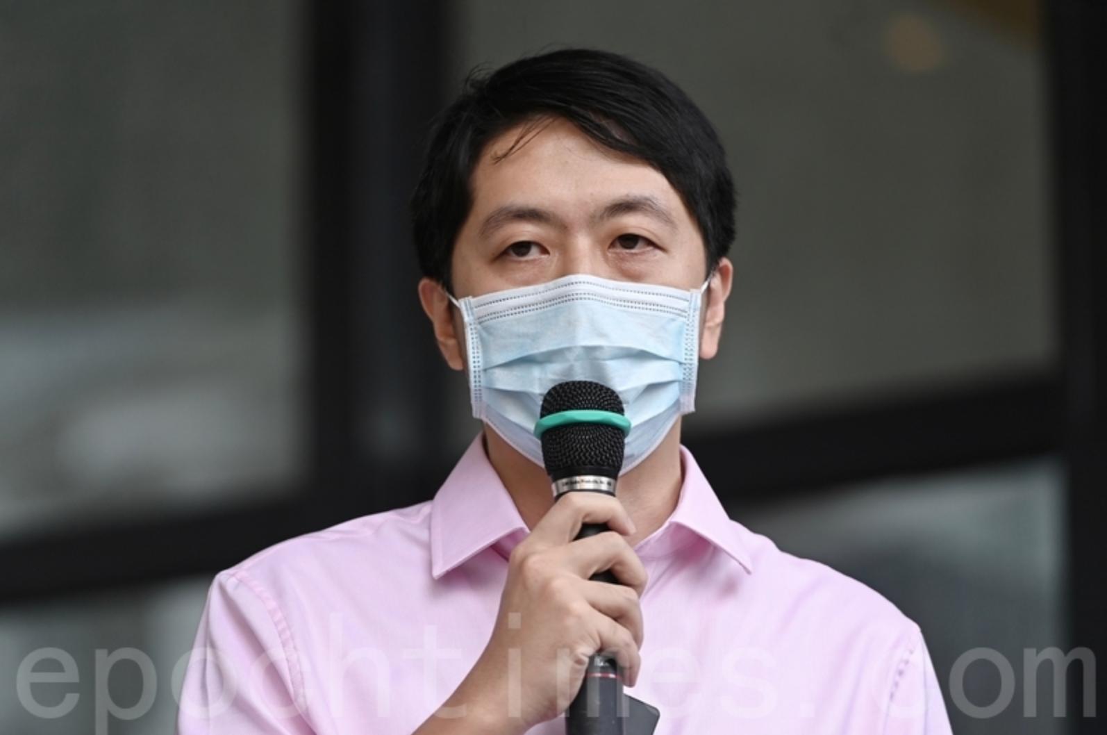 近日多名民主派人士離港、辭任或退出政壇,目前流亡海外的前立法會議員許智峯3日晚在facebook發貼文,感謝他們為香港的付出。(宋碧龍/大紀元)