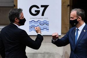 G7外長峰會英美先行會面 要求中共遵守對國際的承諾
