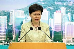 林鄭稱要研究「假新聞法」 被指加強打壓傳媒