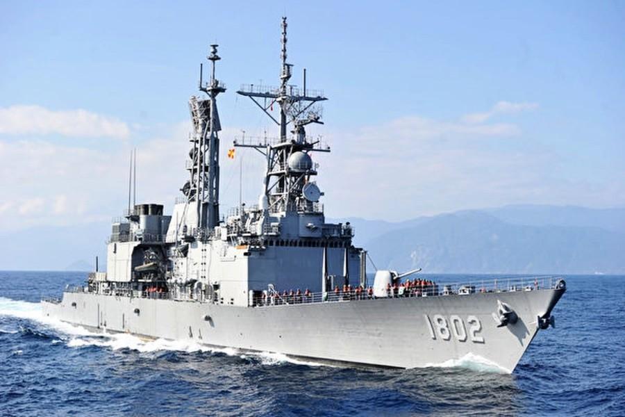 台日軍艦跟監共艦 台司令出席美印太司令交接典禮