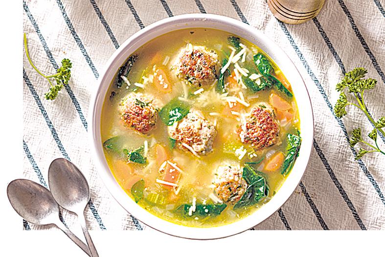 簡單易做的意式婚禮湯。
