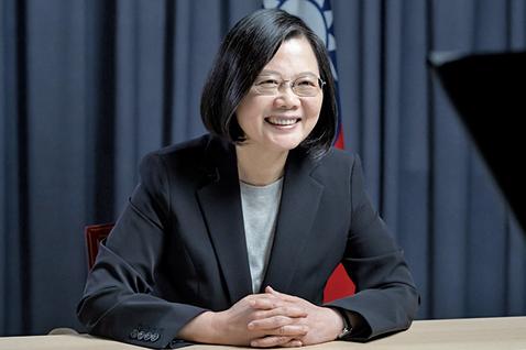 獲2020馬侃獎 蔡英文:全台灣人民的榮耀