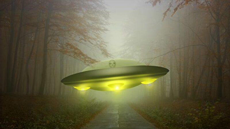 近日,玻利維亞居民親眼目睹1個大約30厘米高的迷你外星人走出UFO,還走上街道。外星人示意圖(pixabay.com)