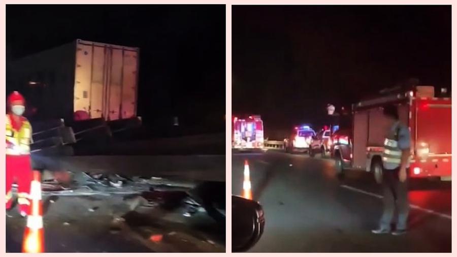 五一假期浙江高速6車追尾 致6死3傷