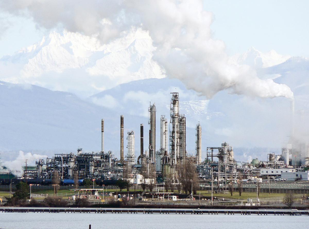 在美國,左派對石油行業的敵視由來已久。一旦作為能源主力的石油業受到衝擊,現代人類文明賴以存在的整個機制,都將受到極大影響。圖為美國一所石化廠。(wikipedia)