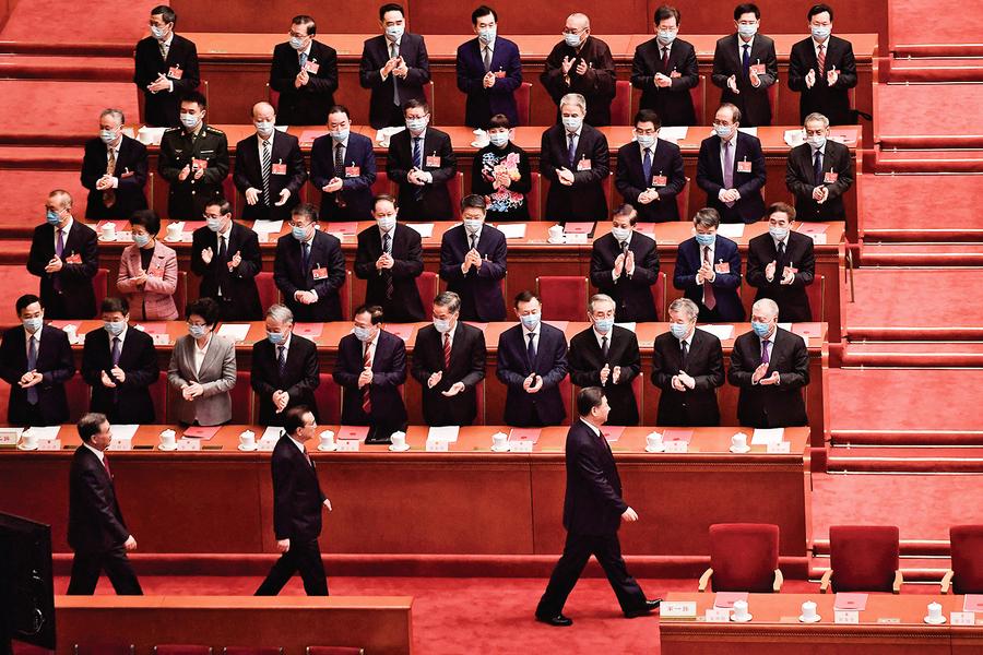 中共政治局會議透露了不妙信號