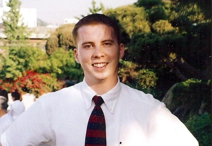 美國大學生斯奈登(如圖)12年前在中國失蹤,他的家人表示,中共公安逮捕他並將他交給北韓。(救援斯奈登網站)
