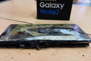 台灣首例Note7爆炸 用戶:沒充電也爆