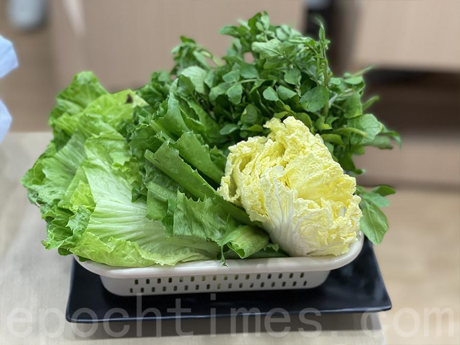 蔬菜籃。(Siu Shan提供)