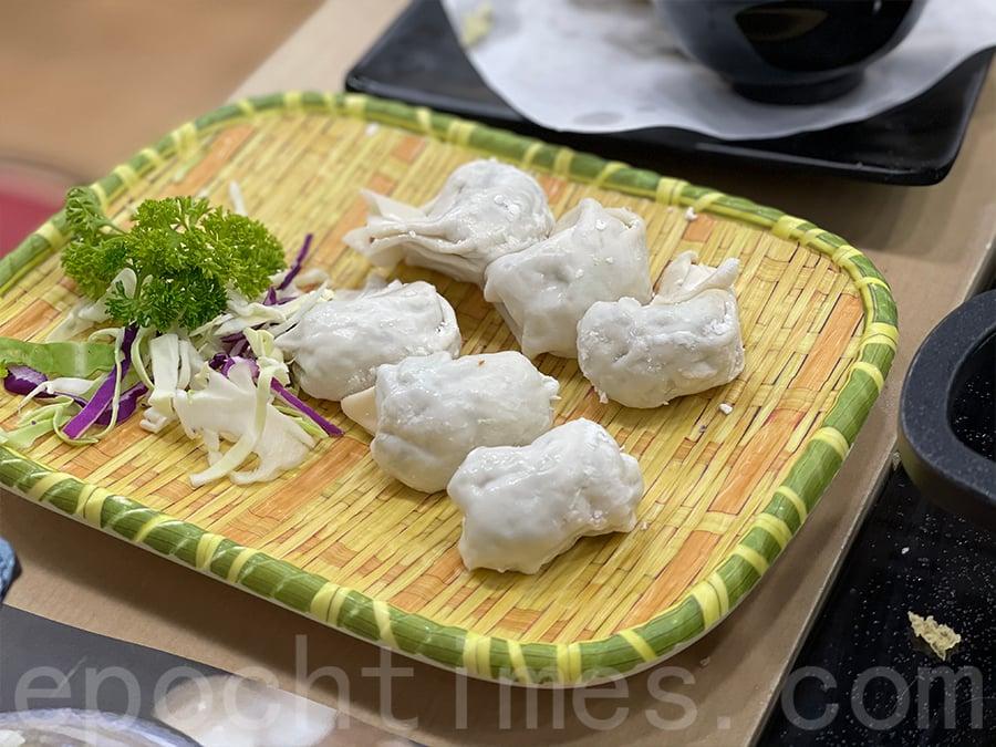 白菜餃。(Siu Shan提供)