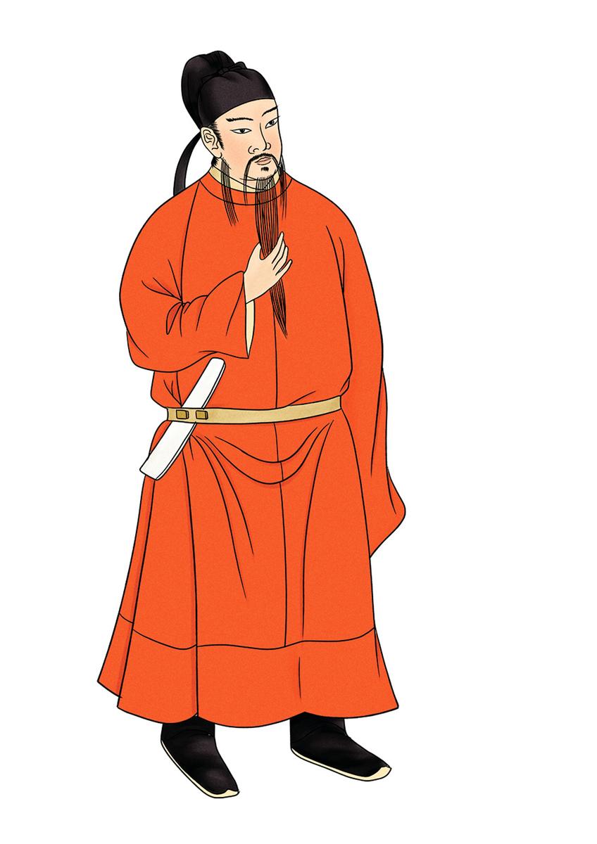 房玄齡,唐朝初年名相、凌煙閣二十四功臣之一。