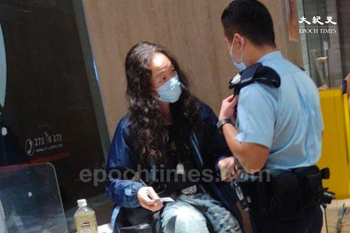 5月6日「廚房佬」因涉打鬥被警方送往醫院,之後行蹤一度成迷。(麥碧/大紀元)