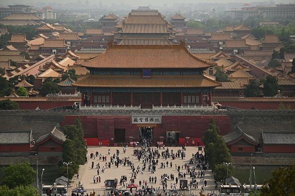 《福布斯》近日公佈的2021年全球富豪榜顯示,北京首次超過紐約,成為全球億萬富翁最多的城市。(NOEL CELIS/AFP via Getty Images)