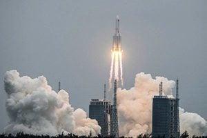全世界關注中共失控火箭 美日韓德軍方討論方案