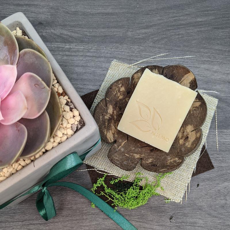 AGEMO由手工皂開始做起,後因應顧客需求,現已開發了近三十款產品。(AGEMO提供)