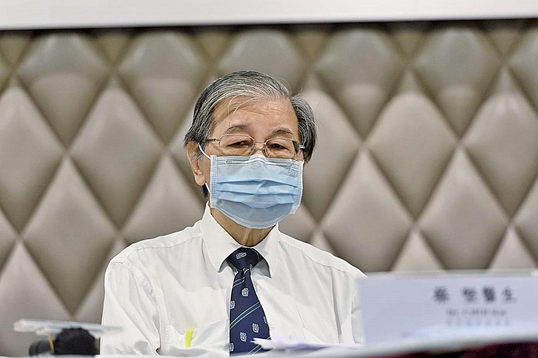 醫學會會長蔡堅表示,中共病毒同《生化危機》系列電影中的病毒危機很相似。(宋碧龍/大紀元)