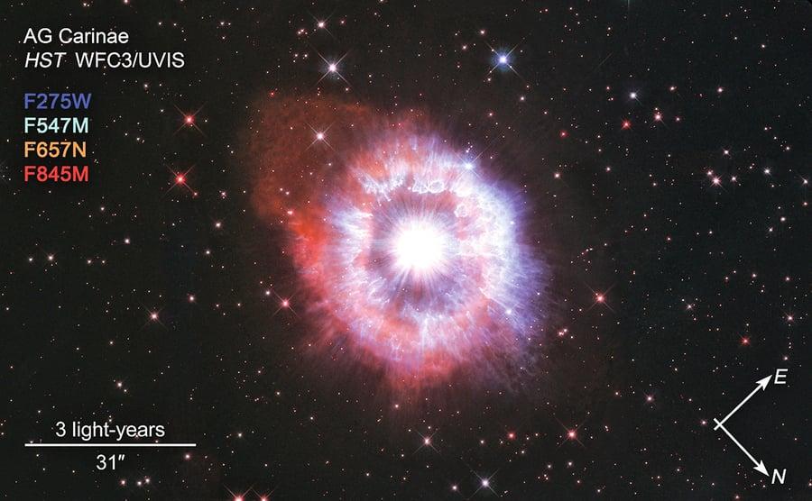 哈勃31周歲  NASA拍明星照紀念