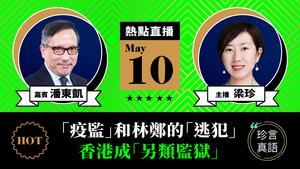 【珍言真語】潘東凱:「疫監」和林鄭的「逃犯」 香港成「另類監獄」