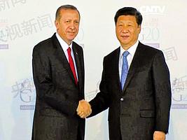 土耳其與北京將深化反恐合作