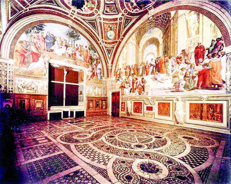 從一幅草圖走入哲學殿堂(四)──米蘭拉斐爾《雅典學院》素描稿