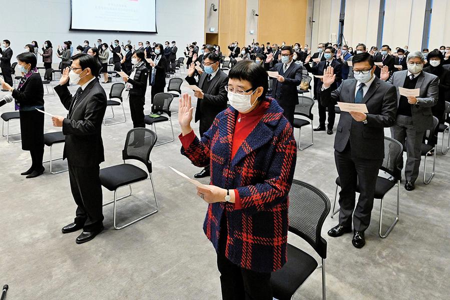 調查發現逾九成人 反對強制宣誓效忠