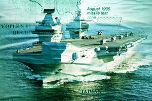 英國遠征編隊行動細節 將駛過南海東海