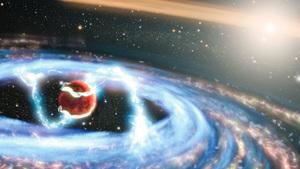 哈勃見證 全新巨型行星形成過程