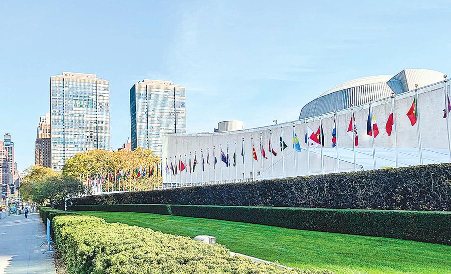 聯合國成中共爭霸戰場 透露國際危局