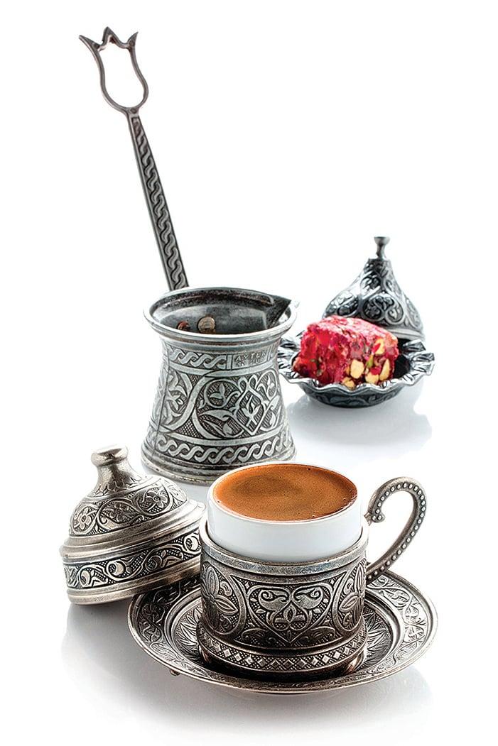 文化悠久的土耳其咖啡。