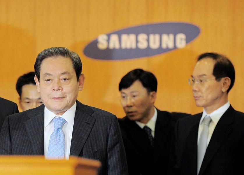 三星李健熙家族需繳納遺產稅 金額世界第一