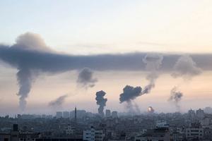 以巴衝突升級  哈馬斯大樓被毀  數十死