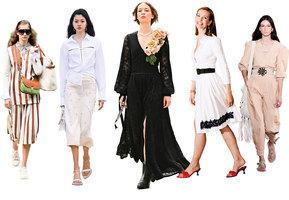 黑洋裝搭配低跟鞋  穿出法式優雅