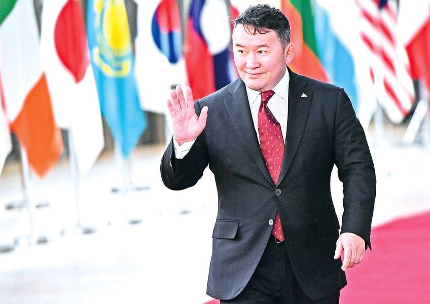 美議員籲布林肯關注蒙古總統大選