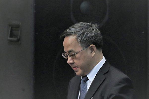 2021年5月12日,中共副總理胡春華大秘、國務院副秘書長高雨被調任國務院參事室主任。圖為中共副總理胡春華。(Feng Li/Getty Images)