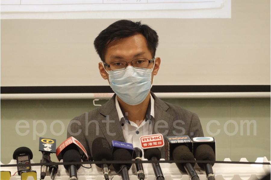 民主黨醫療政策副發言人袁海文。(余鋼/大紀元)
