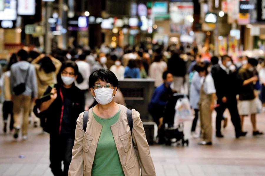 日本年輕人染疫提高 京都神戶首現廿多歲死亡