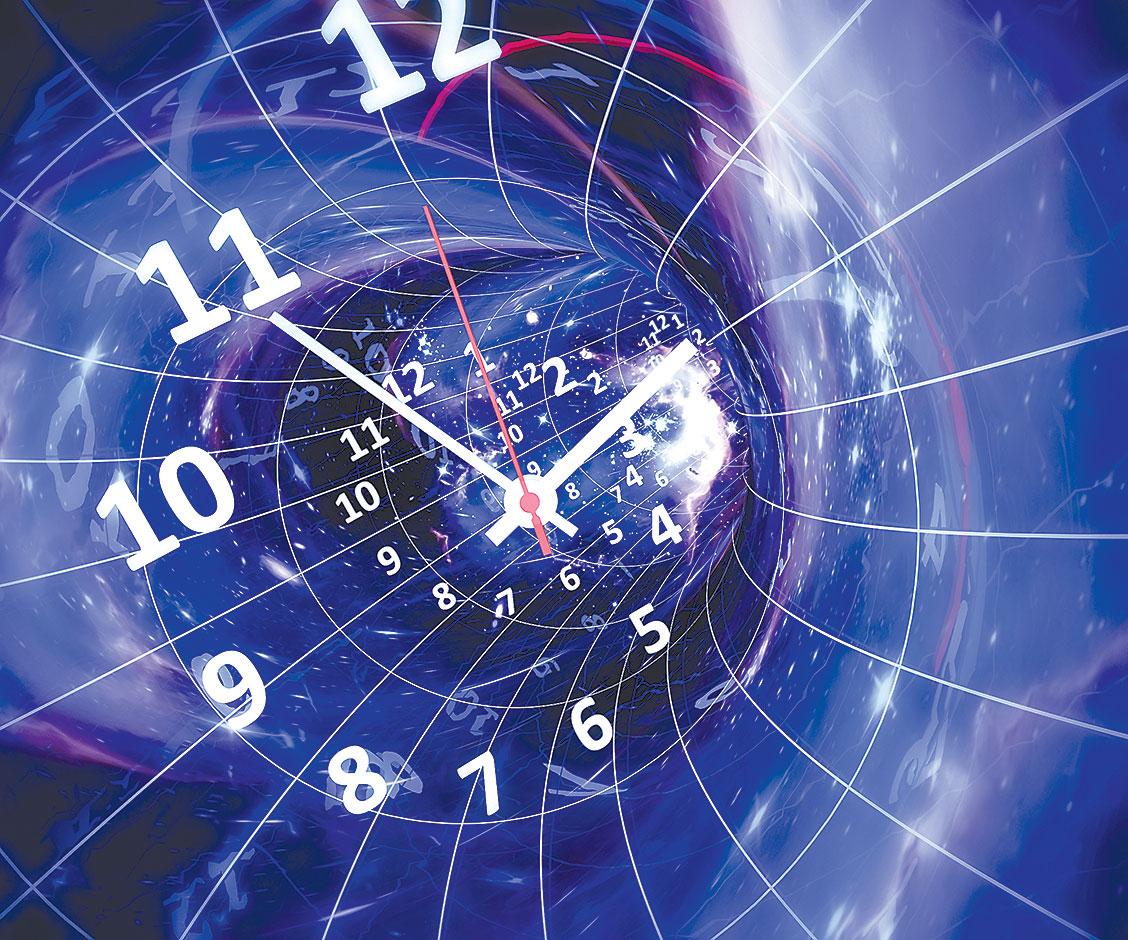 時空旅行假想圖。(Shutter Stock)