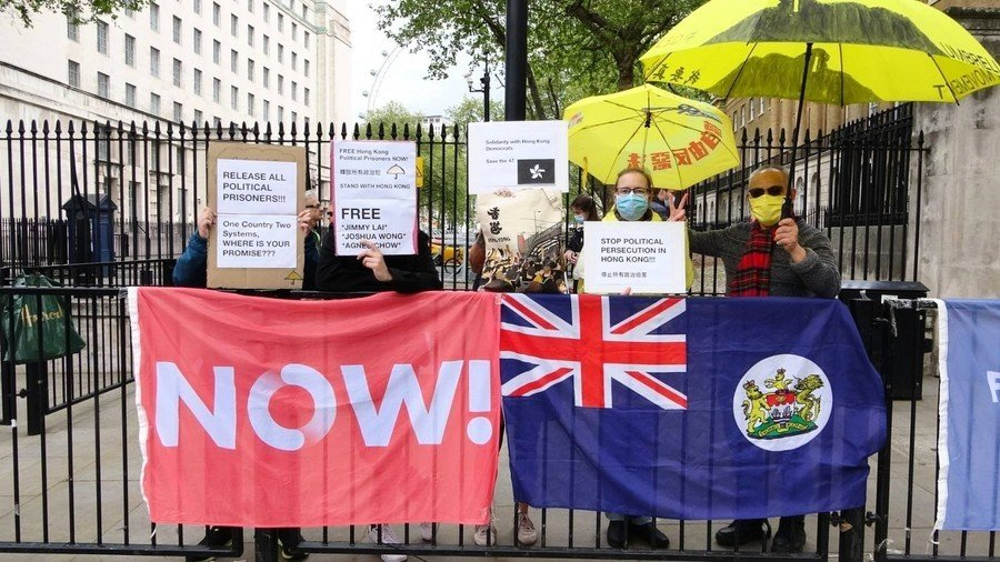 倫敦每週五有集會聲援香港 當地港人支持