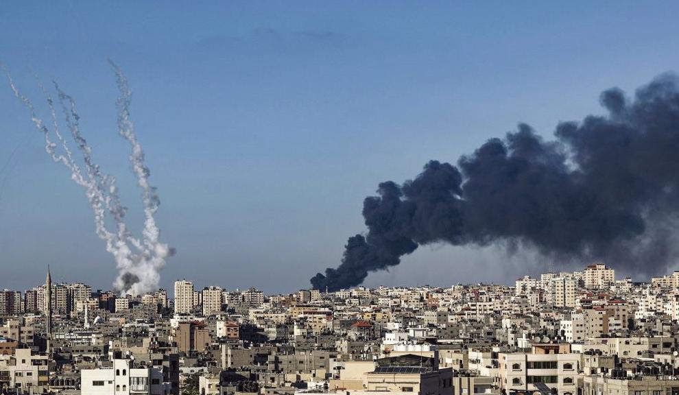 以色列炸毀加沙國際媒體大樓