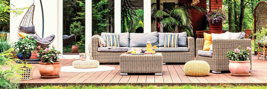 延伸戶外空間 宅在家也能享受度假氛圍