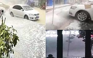 湖南岳陽現十二級大風 貴州連續十三天降冰雹