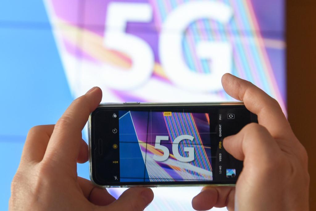 消委會自今年1月至4月收到27宗有關5G服務的投訴,較去年同期升一倍有多。資料圖片。(ARNE DEDERT/DPA/AFP via Getty Images)